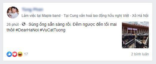 Tổ chức show đúng ngày bão về, Dear Hanoi của Vũ Cát Tường vẫn ấm áp vì điều này - Ảnh 1.