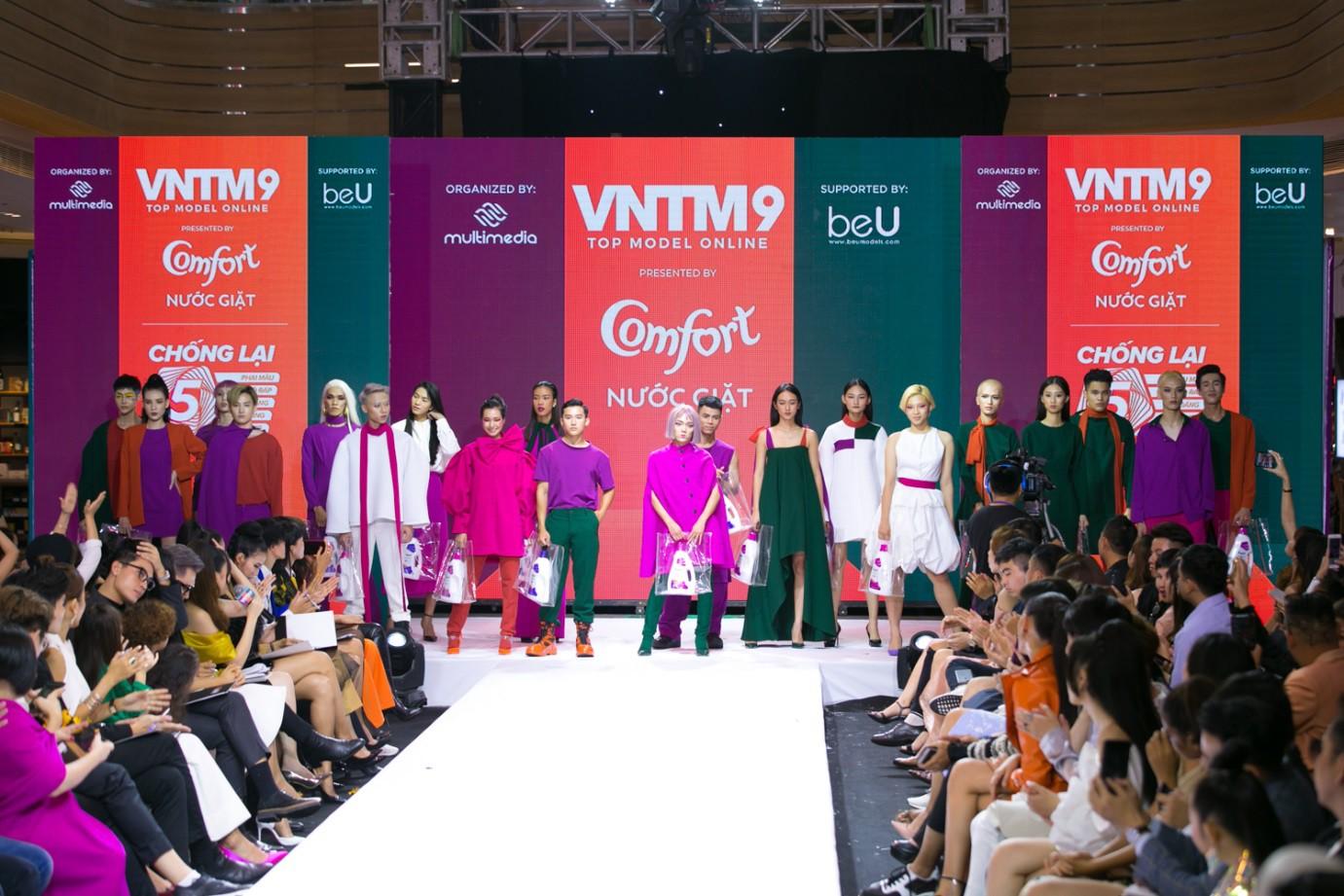 """""""Đánh lừa"""" được cả giới mộ điệu thời trang, QGC đã chính thức lộ mặt sau vòng Final Walk VNTM - Ảnh 17."""