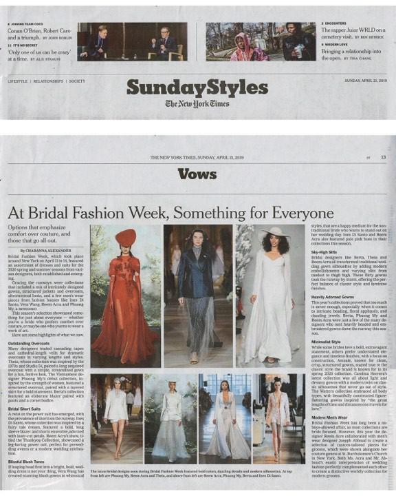 Ngắm váy cưới của nhà thiết kế Việt tại tiệm đồ cưới nổi tiếng New York - Ảnh 8.