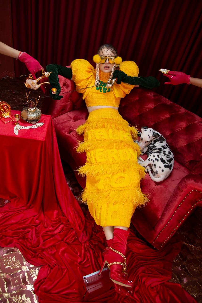 Những thiết kế thời trang cực chất qua câu chuyện của nhà thiết kế trẻ - Ảnh 1.