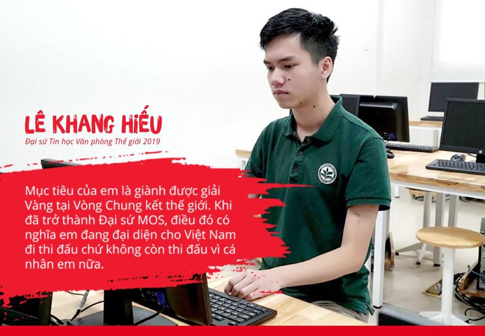 Cậu bạn Việt Nam vô địch quốc gia tin học văn phòng thế giới gia nhập Swinburne (Việt Nam) - Ảnh 1.