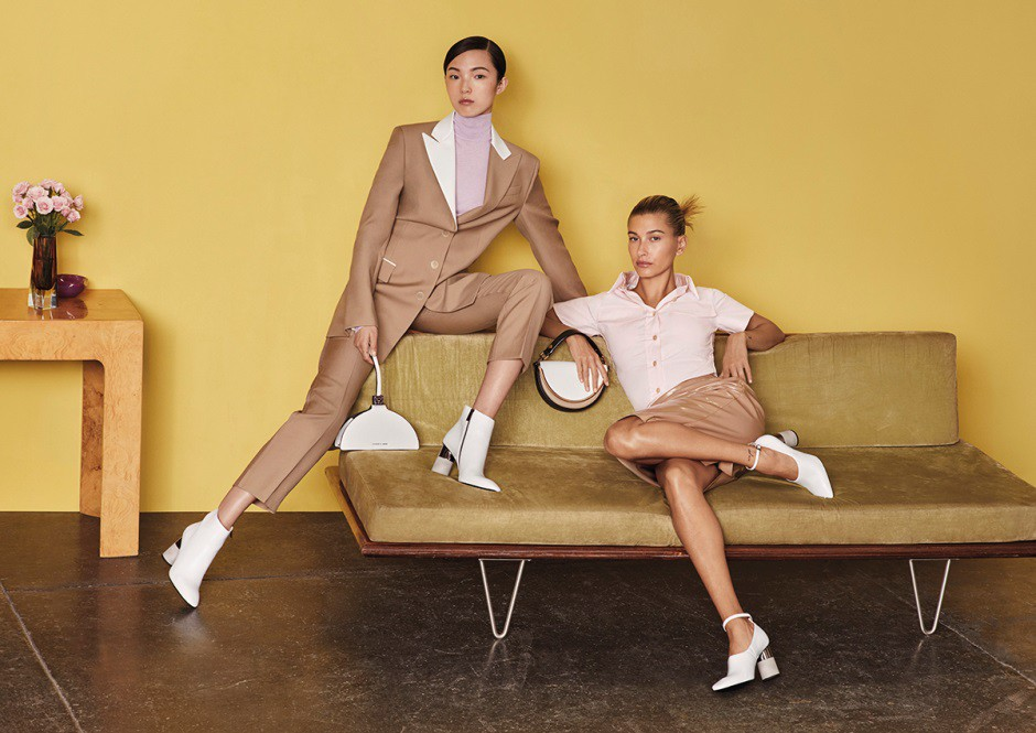 Siêu mẫu quốc tế Hailey Bieber và Xiao Weng trở thành gương mặt đại diện mới cho chiến dịch mùa thu của CHARLES & KEITH - Ảnh 3.