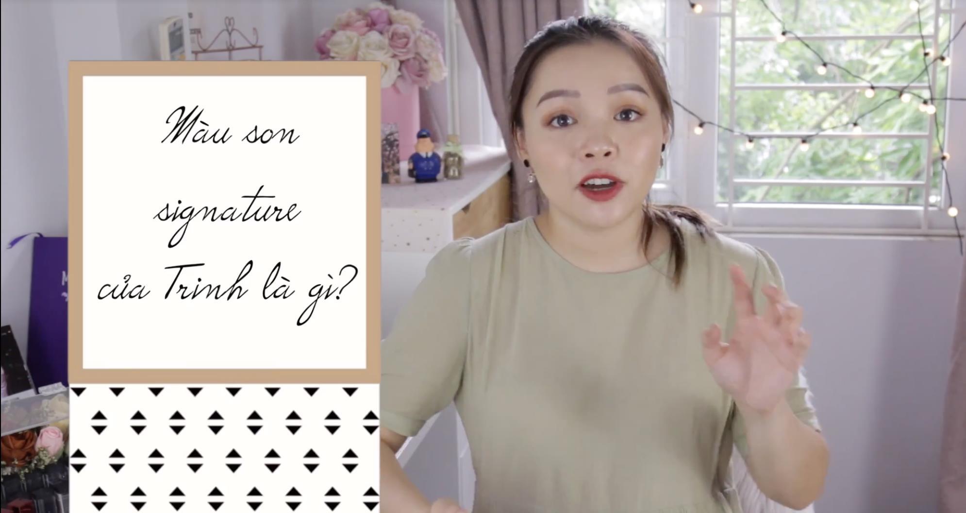 """Cùng soi BST son siêu to khổng lồ của beauty blogger Trinh Phạm mà mọi cô gái đều """"thèm muốn"""" - Ảnh 7."""