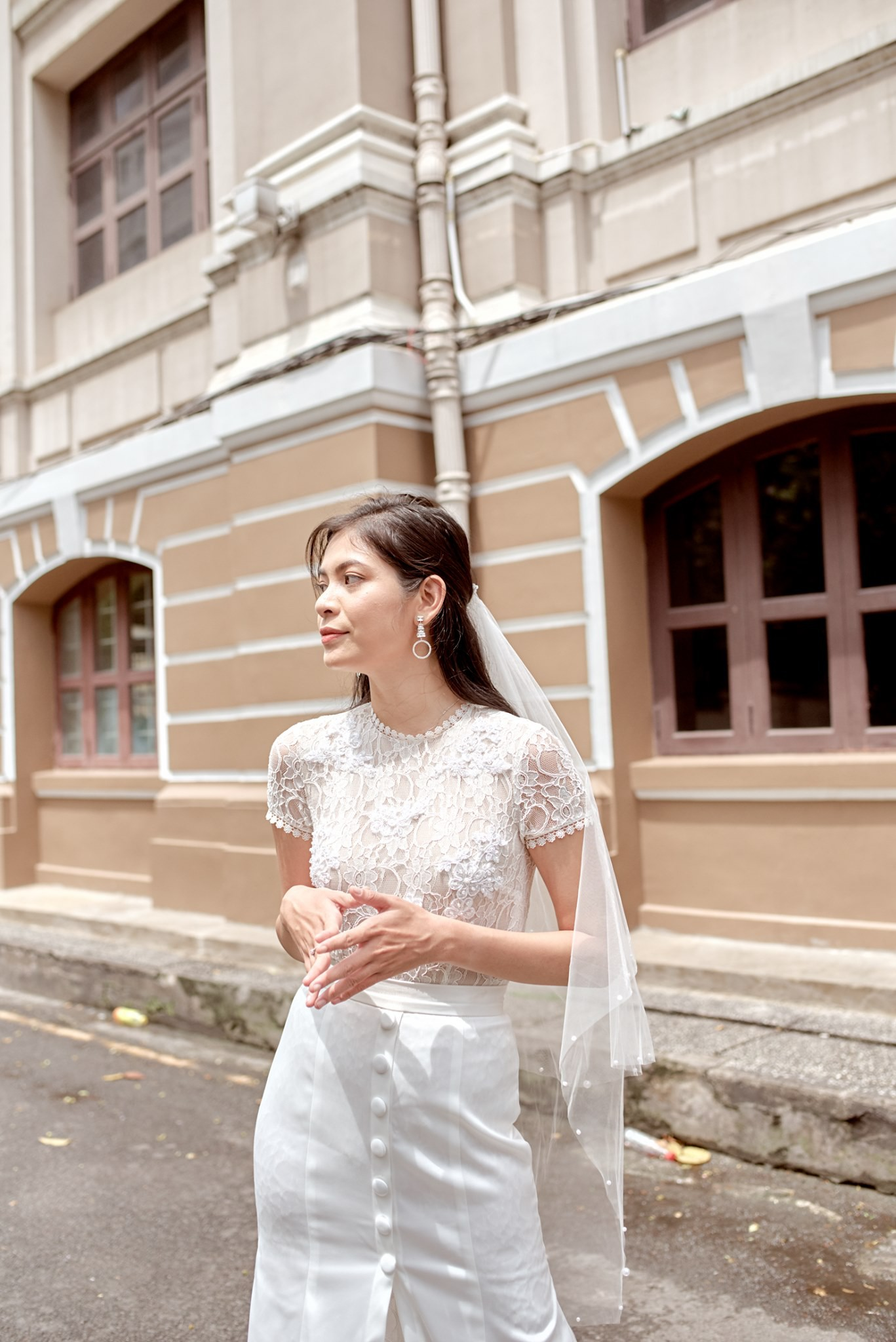 Cream.Y x Daphale, những chiếc váy cưới dành riêng cho cô dâu hiện đại - Ảnh 3.