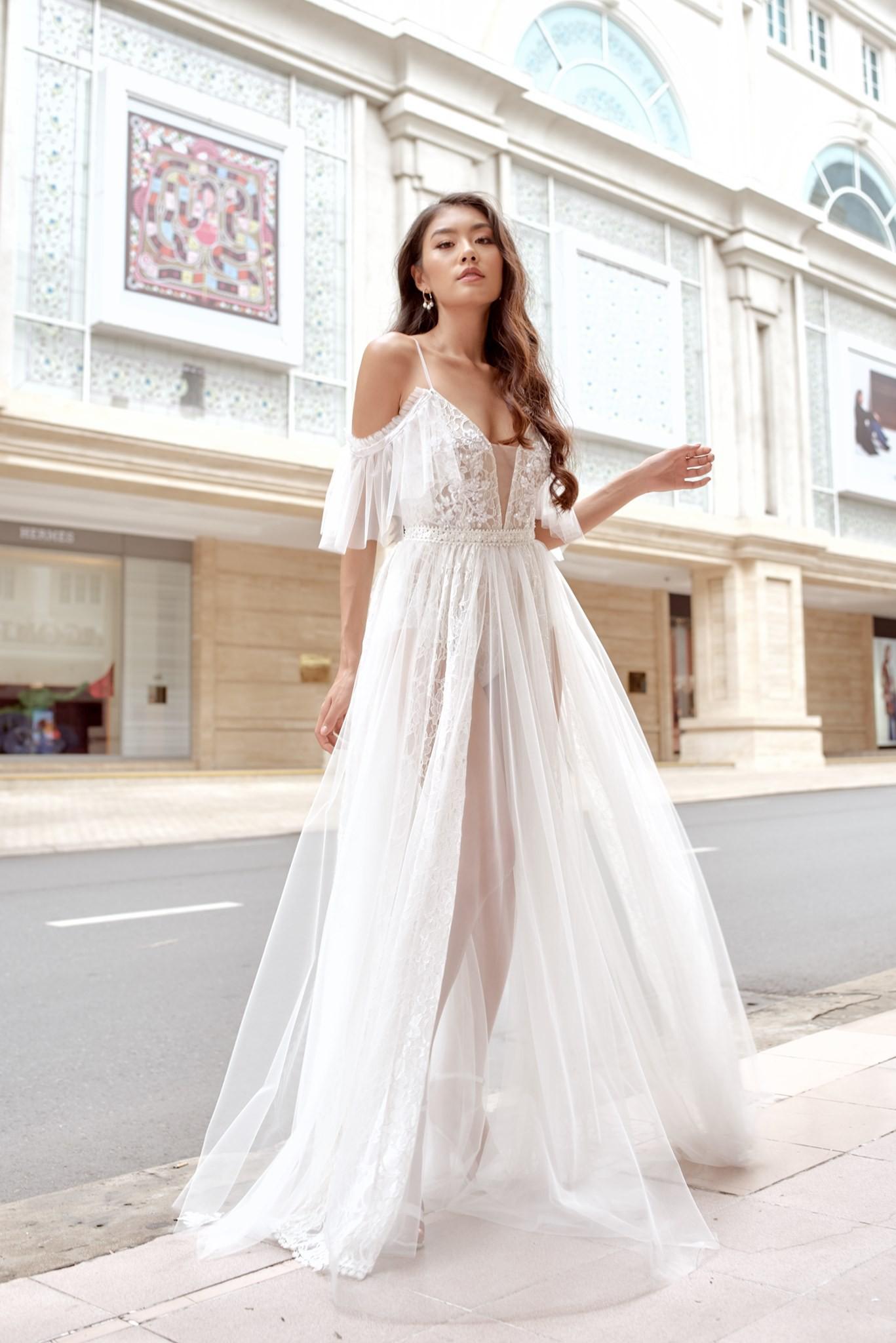 Cream.Y x Daphale, những chiếc váy cưới dành riêng cho cô dâu hiện đại - Ảnh 9.