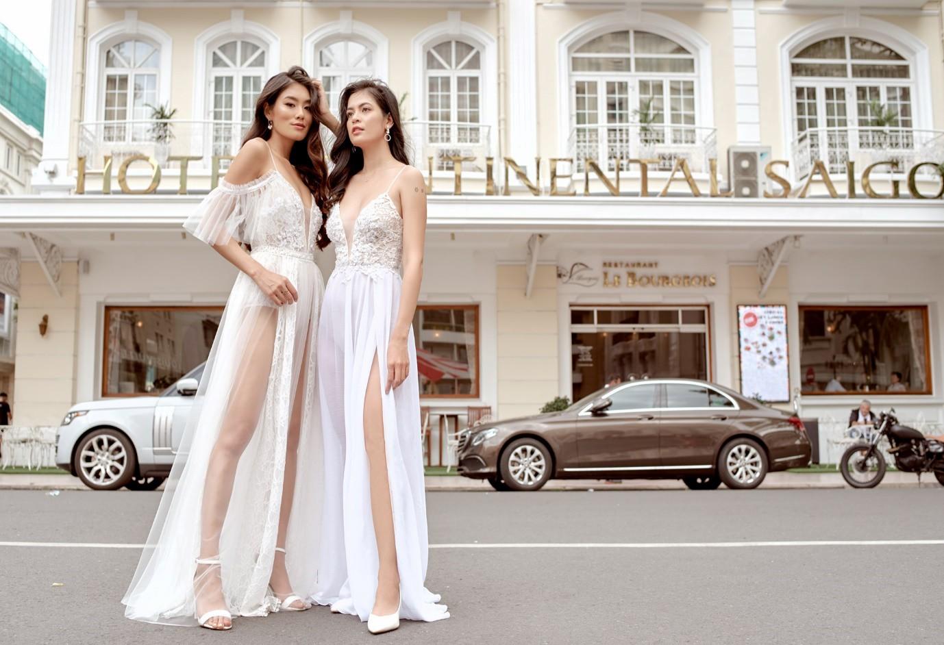 Cream.Y x Daphale, những chiếc váy cưới dành riêng cho cô dâu hiện đại - Ảnh 10.