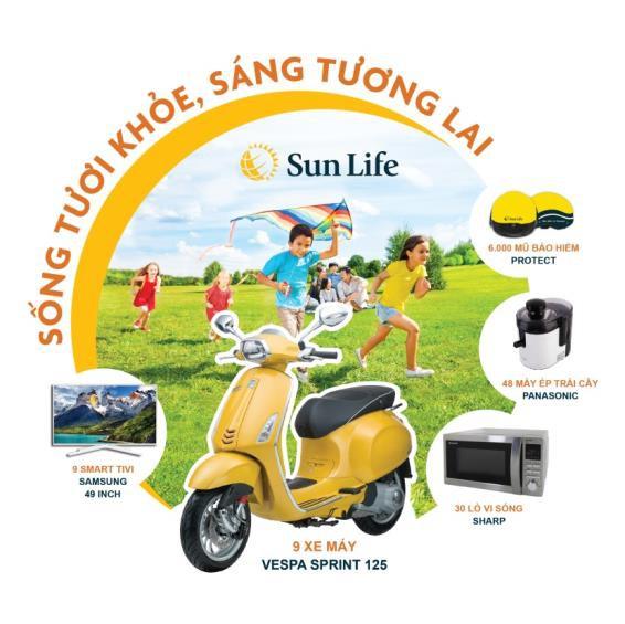 """""""Sống tươi khỏe, sáng tương lai"""" cùng Sun Life - Ảnh 1."""