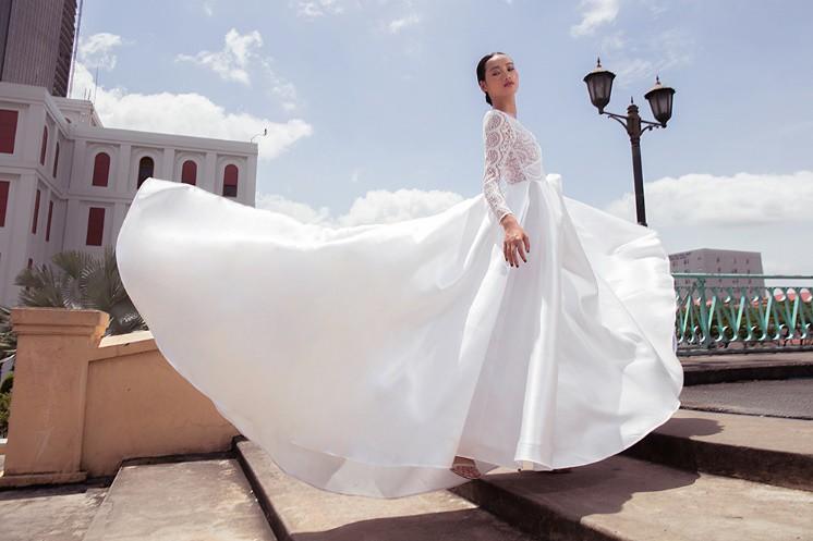"""Nhà thiết kế Lê Thanh Phương kết hợp cùng stylist Huỳnh Ngọc Lợi với bộ sưu tập cưới """"Runaway Bride"""". - Ảnh 4."""