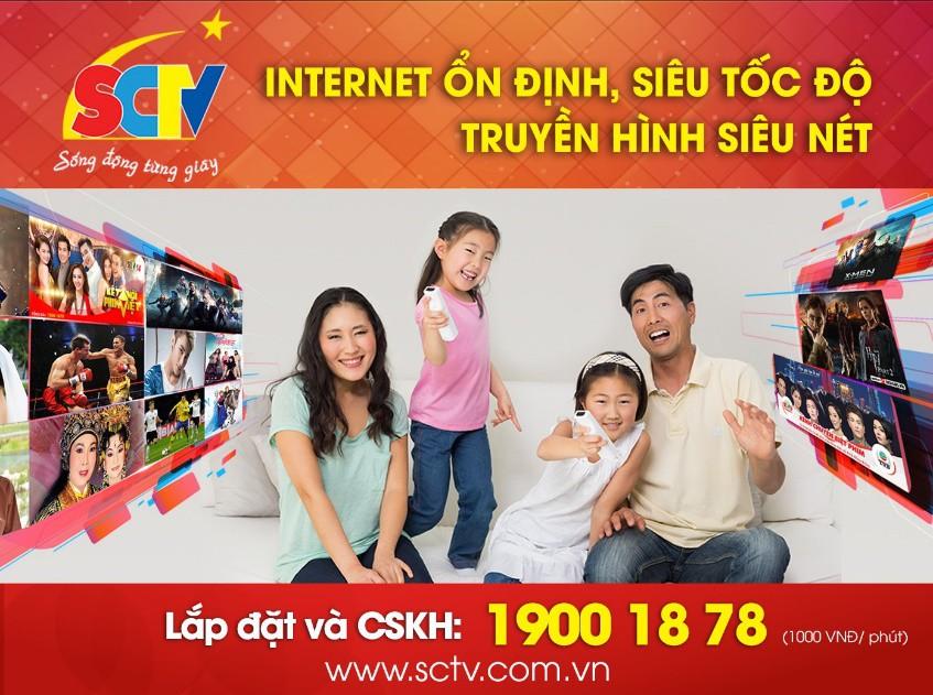 Tận hưởng cuộc sống nhiều tiện ích cùng SCTV - Ảnh 1.