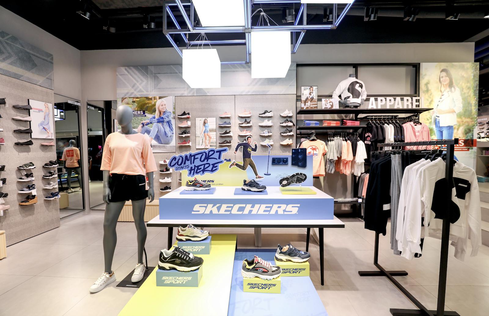 Bất ngờ kép từ Skechers: Karik trở thành đại sứ thương hiệu, chính thức khai trương Flagship Store tại Việt Nam - Ảnh 6.