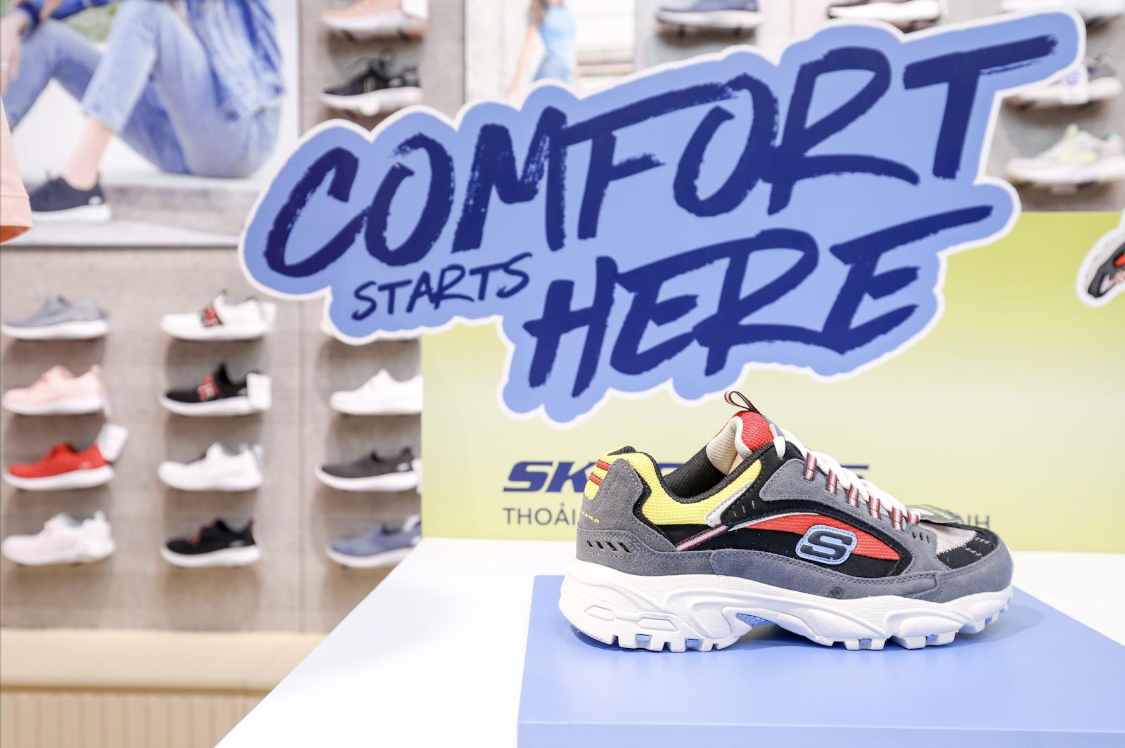 Bất ngờ kép từ Skechers: Karik trở thành đại sứ thương hiệu, chính thức khai trương Flagship Store tại Việt Nam - Ảnh 7.
