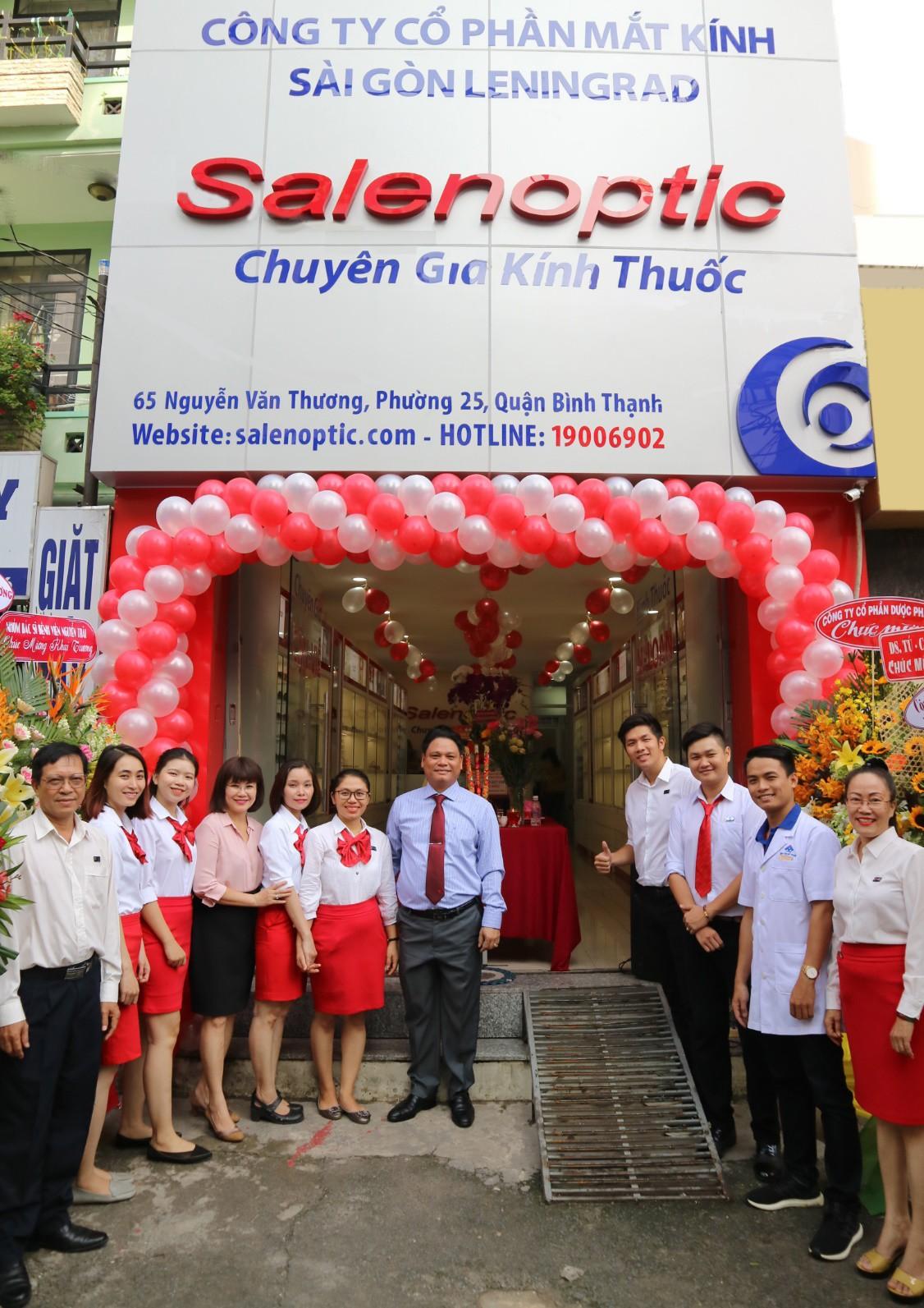 Mắt kính Salenoptic khai trương cửa hàng 65 Nguyễn Văn Thương - Ảnh 1.