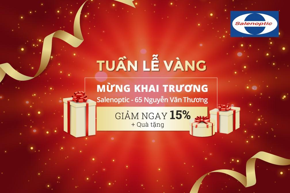 Mắt kính Salenoptic khai trương cửa hàng 65 Nguyễn Văn Thương - Ảnh 4.