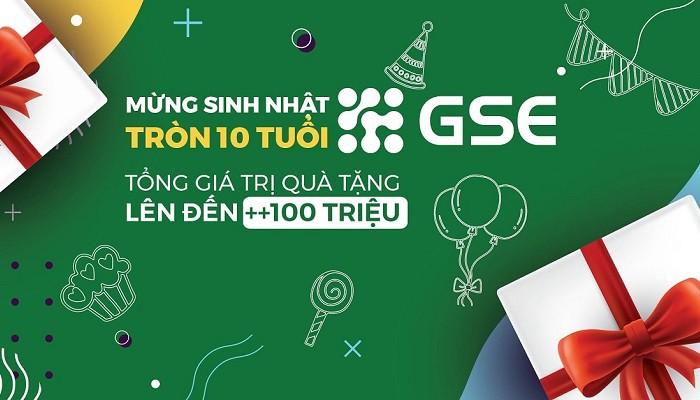 Gói quà tặng sinh nhật khủng từ GSE kỷ niệm 10 năm thành lập công ty - Ảnh 1.