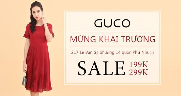 Ưu đãi mừng thời trang Guco khai trương showroom Phú Nhuận - Ảnh 1.