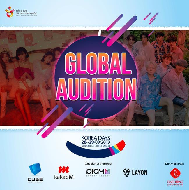 """Cube, Kakao M và Play M chính thức mở """"Global Audition"""" tại Việt Nam - Ảnh 1."""