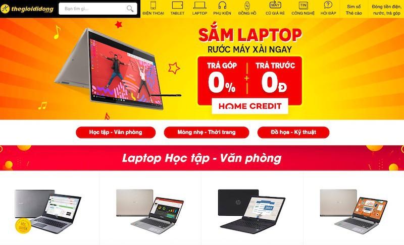 Hot: Thế Giới Di Động đang bán laptop trả góp 0%, trả trước 0 đồng - Ảnh 1.