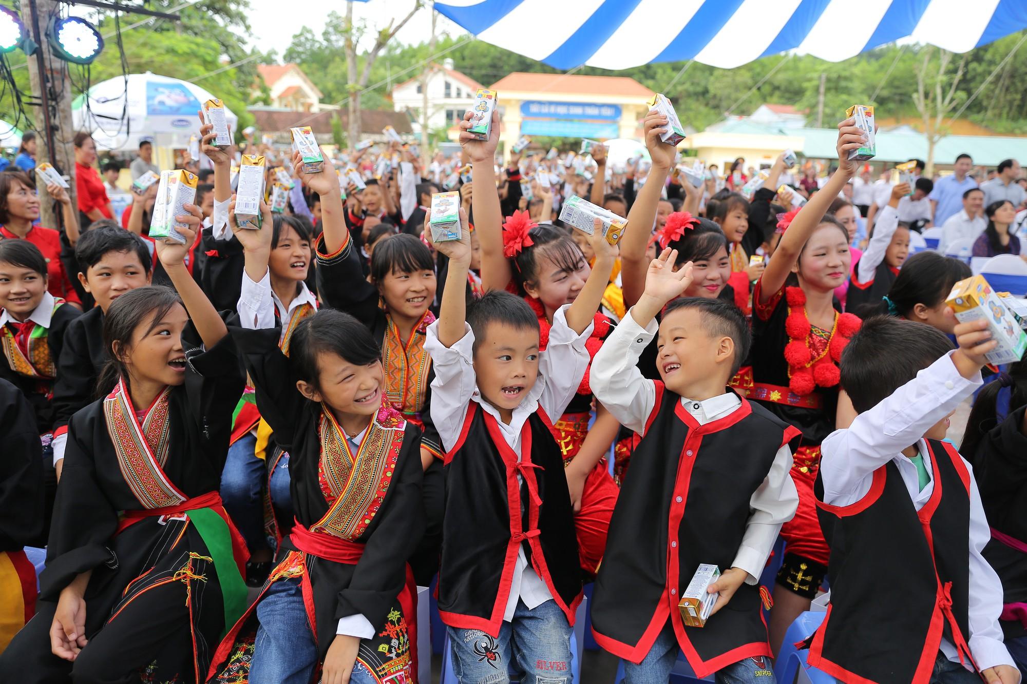 Quỹ sữa Vươn Cao Việt Nam: Để mọi trẻ em đều được uống sữa mỗi ngày - Ảnh 5.