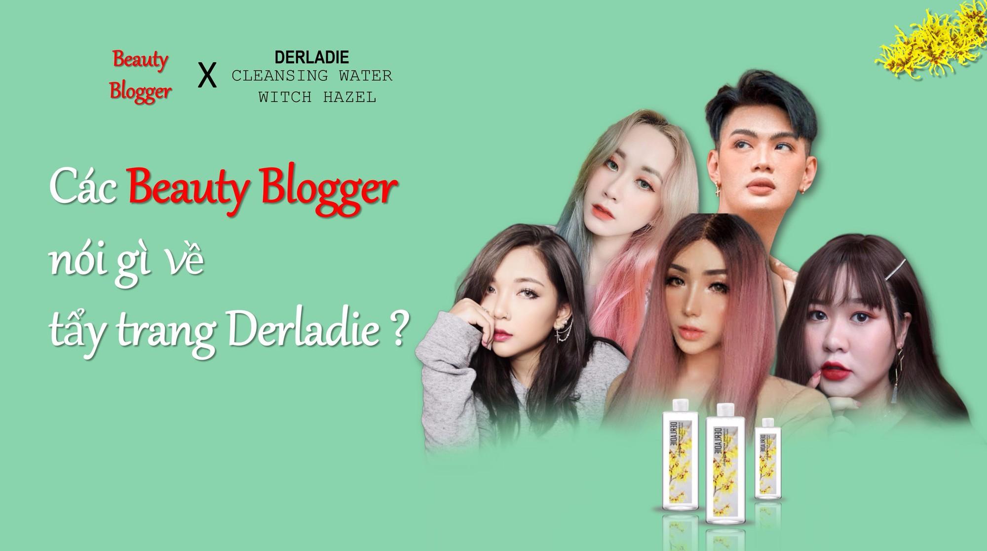 Beauty blogger Ty Lê, Đào Bá Lộc nói gì về nước tẩy trang Derladie Witch Hazel? - Ảnh 1.