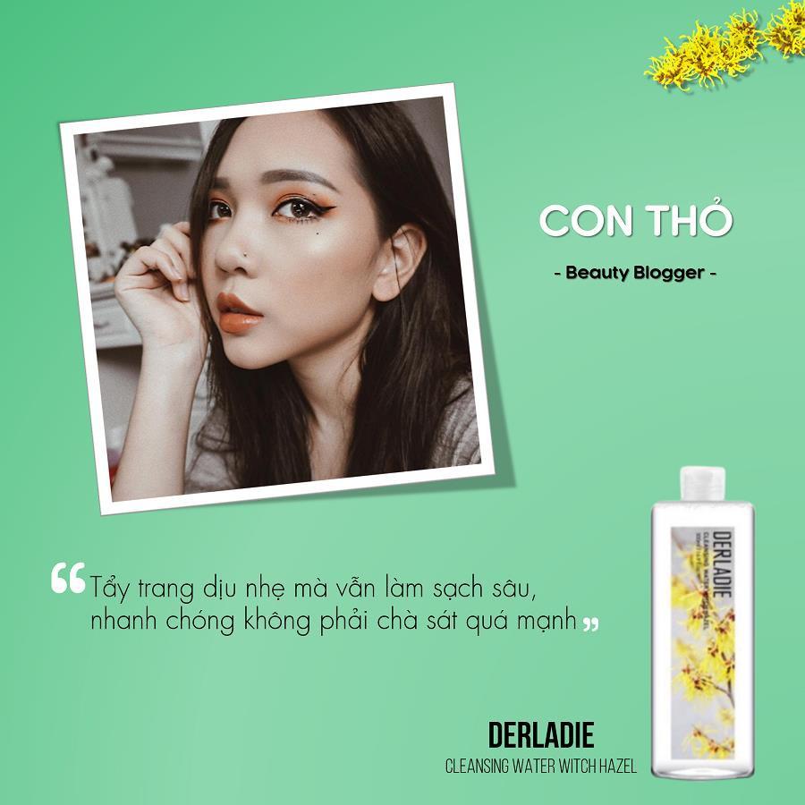 Beauty blogger Ty Lê, Đào Bá Lộc nói gì về nước tẩy trang Derladie Witch Hazel? - Ảnh 5.