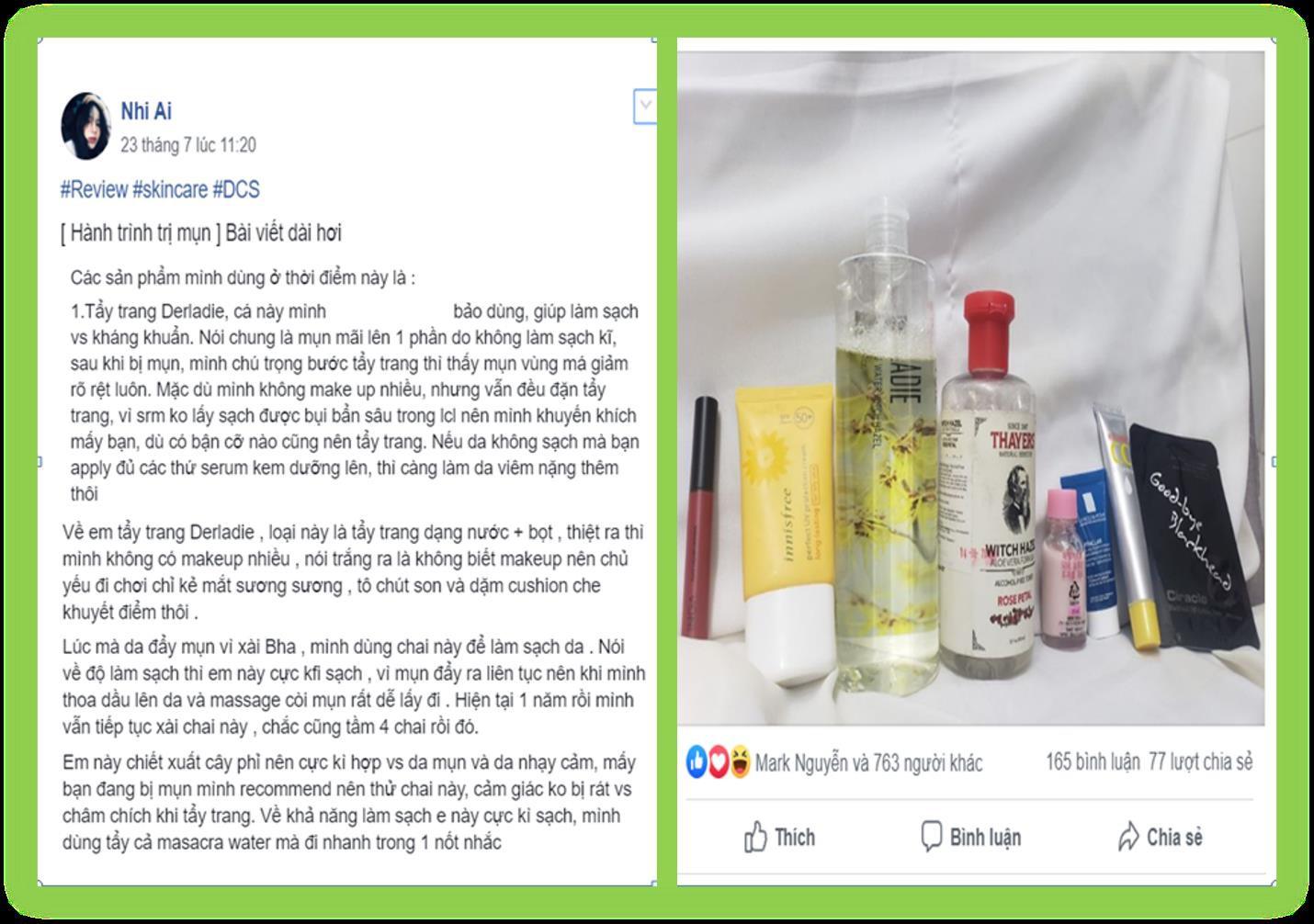 Beauty blogger Ty Lê, Đào Bá Lộc nói gì về nước tẩy trang Derladie Witch Hazel? - Ảnh 7.