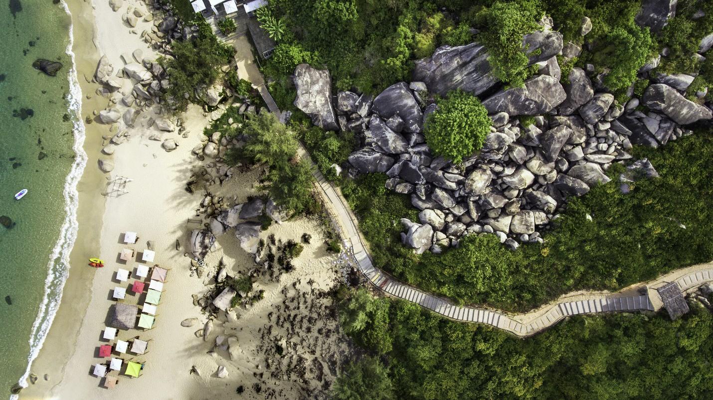 Lộ điểm check in sống ảo mới tại Quy Nhơn, nửa sang chảnh như Maldive, nửa xanh màu thiên đường nghỉ dưỡng Bali - Ảnh 4.