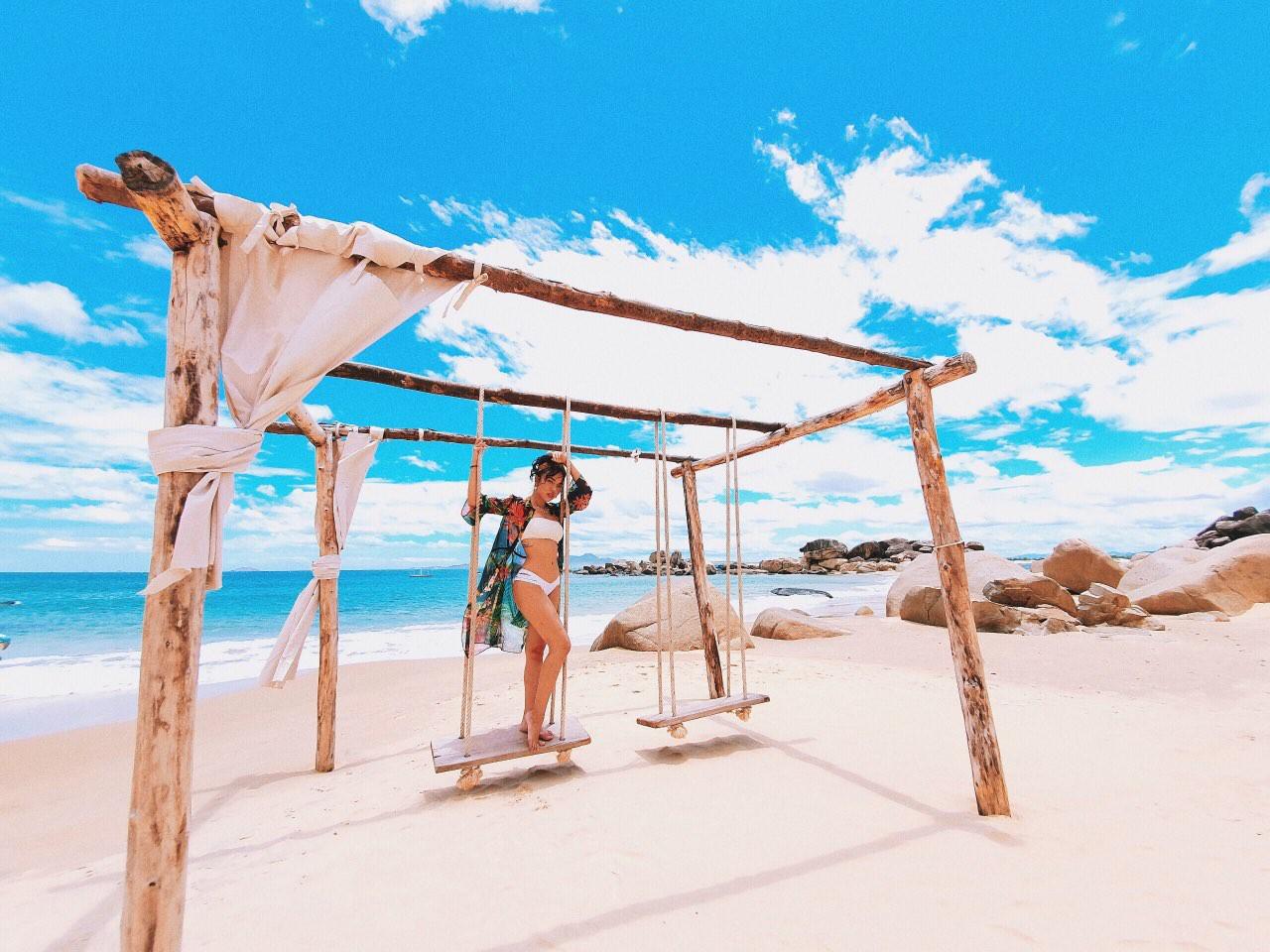 Lộ điểm check in sống ảo mới tại Quy Nhơn, nửa sang chảnh như Maldive, nửa xanh màu thiên đường nghỉ dưỡng Bali - Ảnh 6.