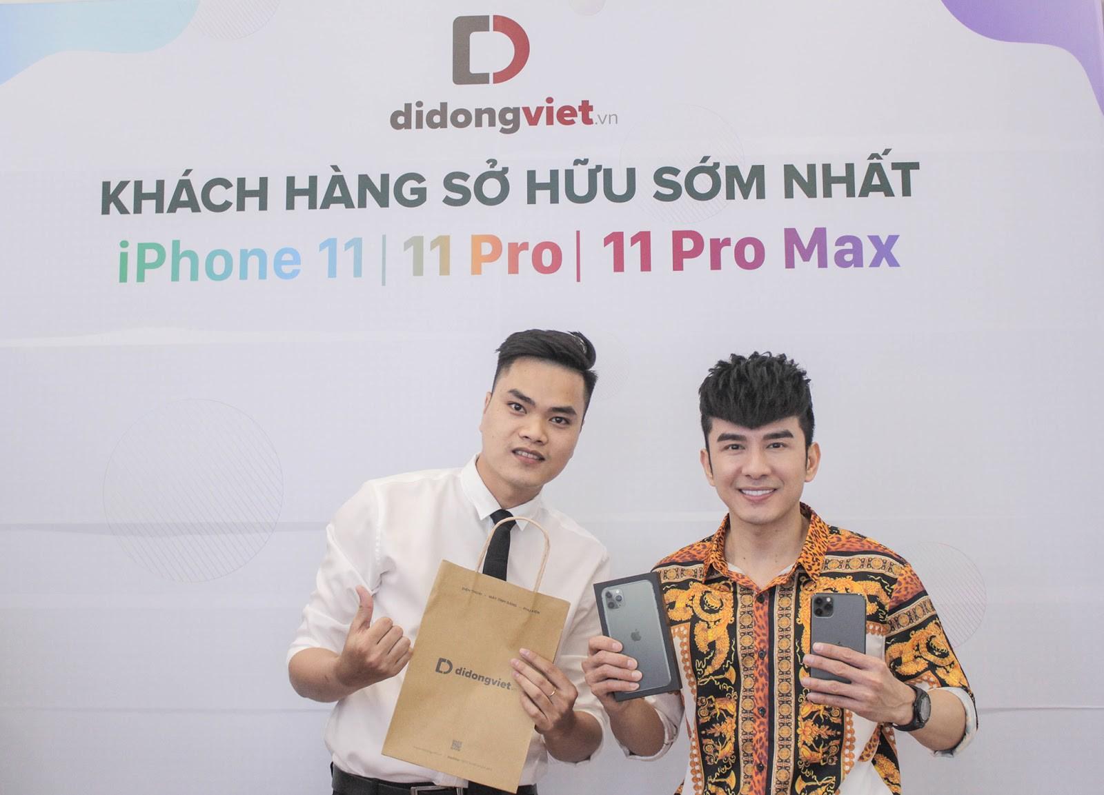 Anh Bo Đan Trường bất ngờ đến Di Động Việt để tậu iPhone 11 Pro Max - Ảnh 1.