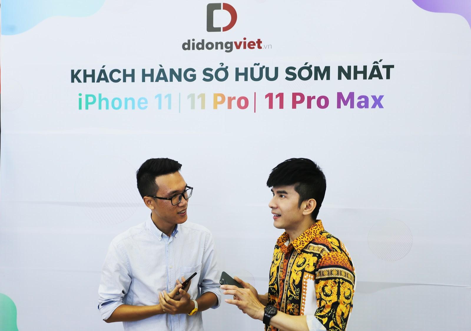 Anh Bo Đan Trường bất ngờ đến Di Động Việt để tậu iPhone 11 Pro Max - Ảnh 4.