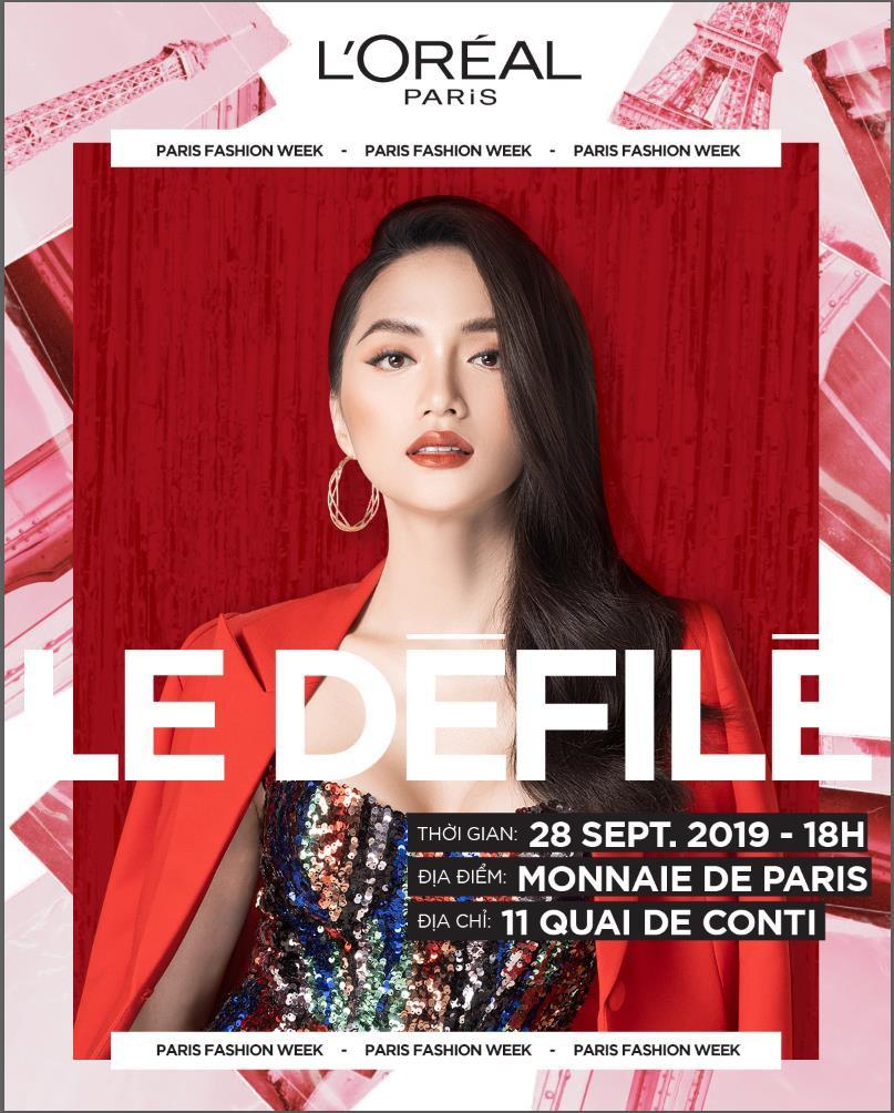 Hương Giang là 1 trong những đại diện đình đám của châu Á Thái Bình Dương dự Paris Fashion Week 2019 - Ảnh 5.