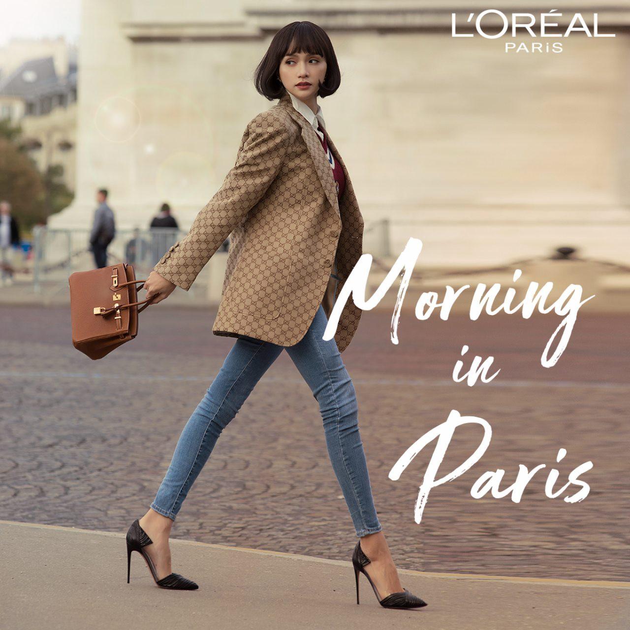 """Ngắm Hương Giang ở Paris, cả hội tín đồ làm đẹp đều muốn gọi tên cây son """"chân ái"""" mà chị đẹp dùng! - Ảnh 3."""