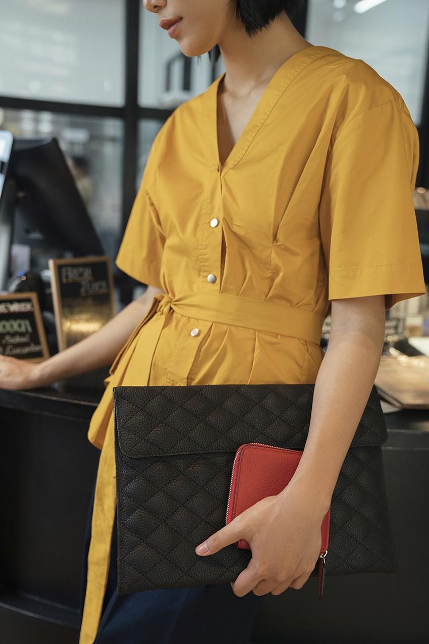 BST túi da Desino Classic 07 - Phong cách thanh lịch cho các cô nàng công sở - Ảnh 6.