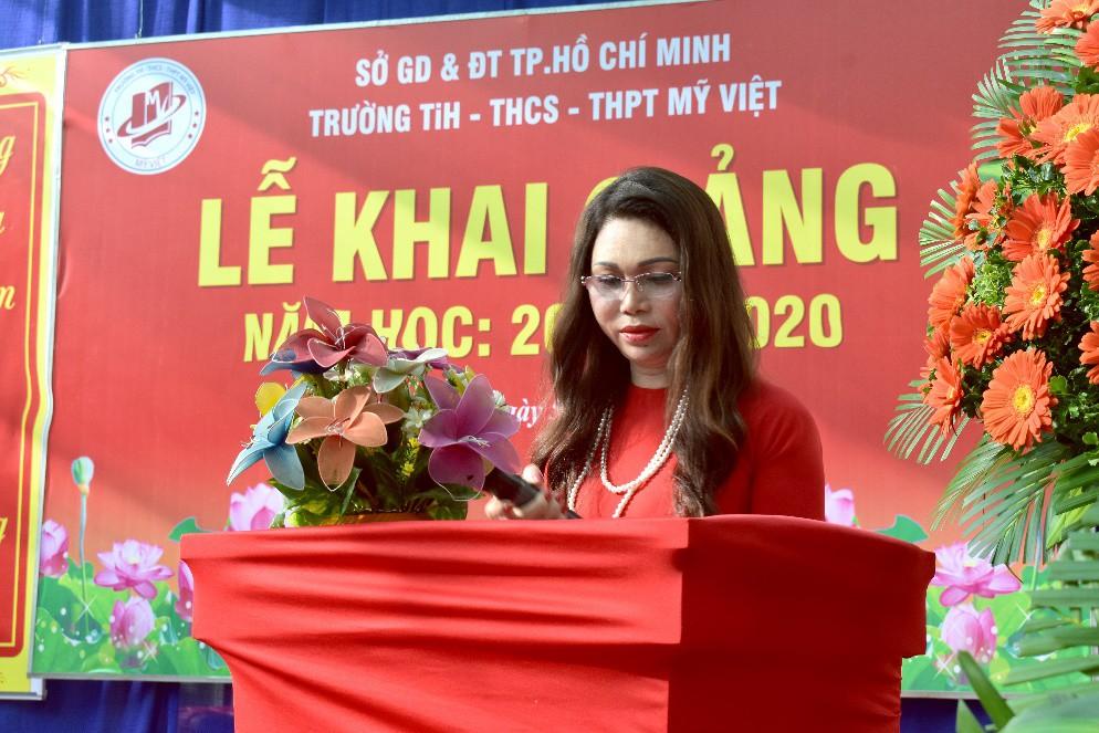 """Lễ khai giảng """"vui hết cỡ"""" của teen Mỹ Việt TP.HCM - Ảnh 3."""
