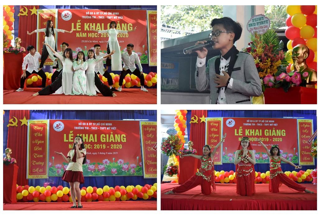 """Lễ khai giảng """"vui hết cỡ"""" của teen Mỹ Việt TP.HCM - Ảnh 5."""