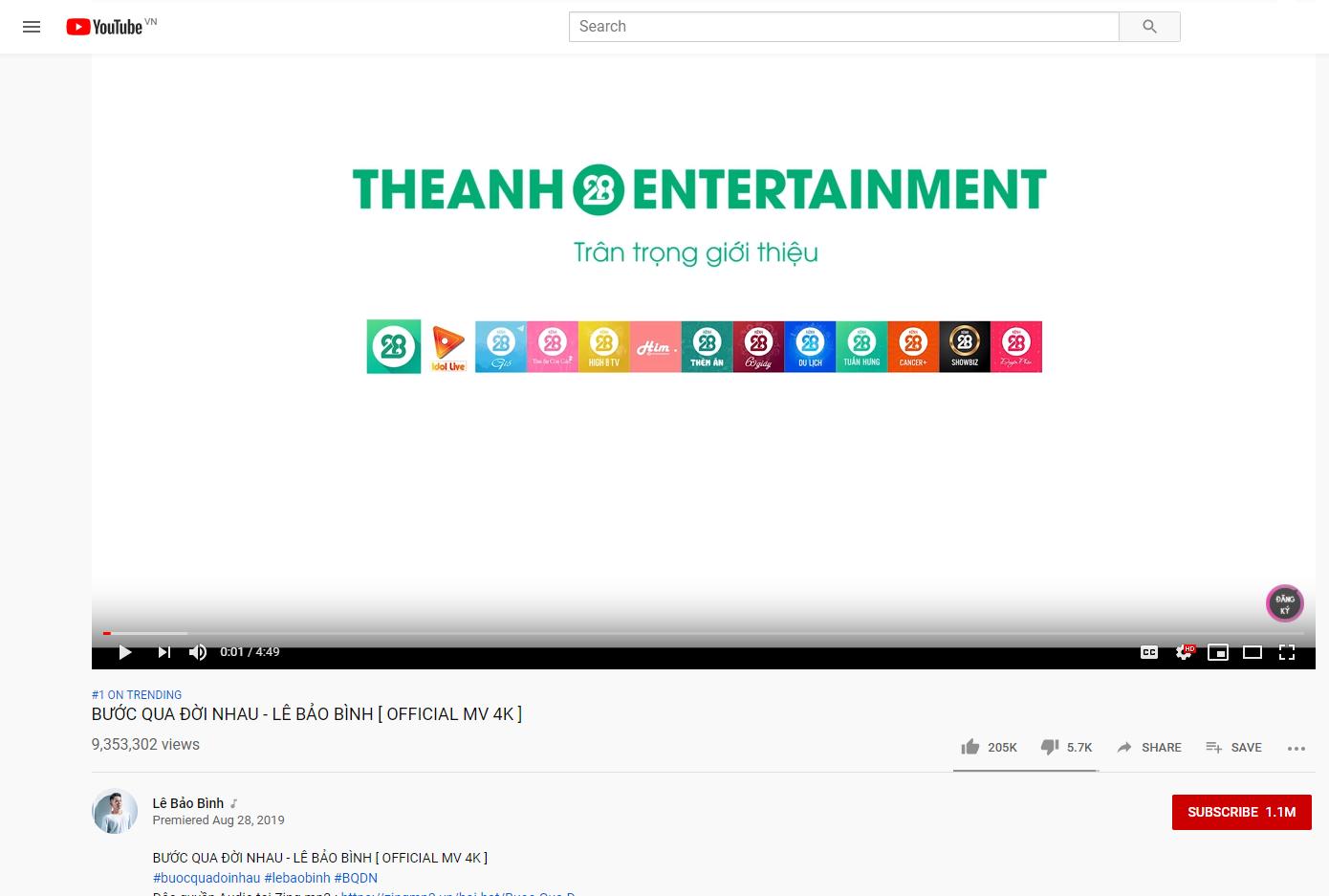 Theanh28 Entertainment - Công ty truyền thông và giải trí có bàn tay vàng trong làng Top Trending - Ảnh 4.