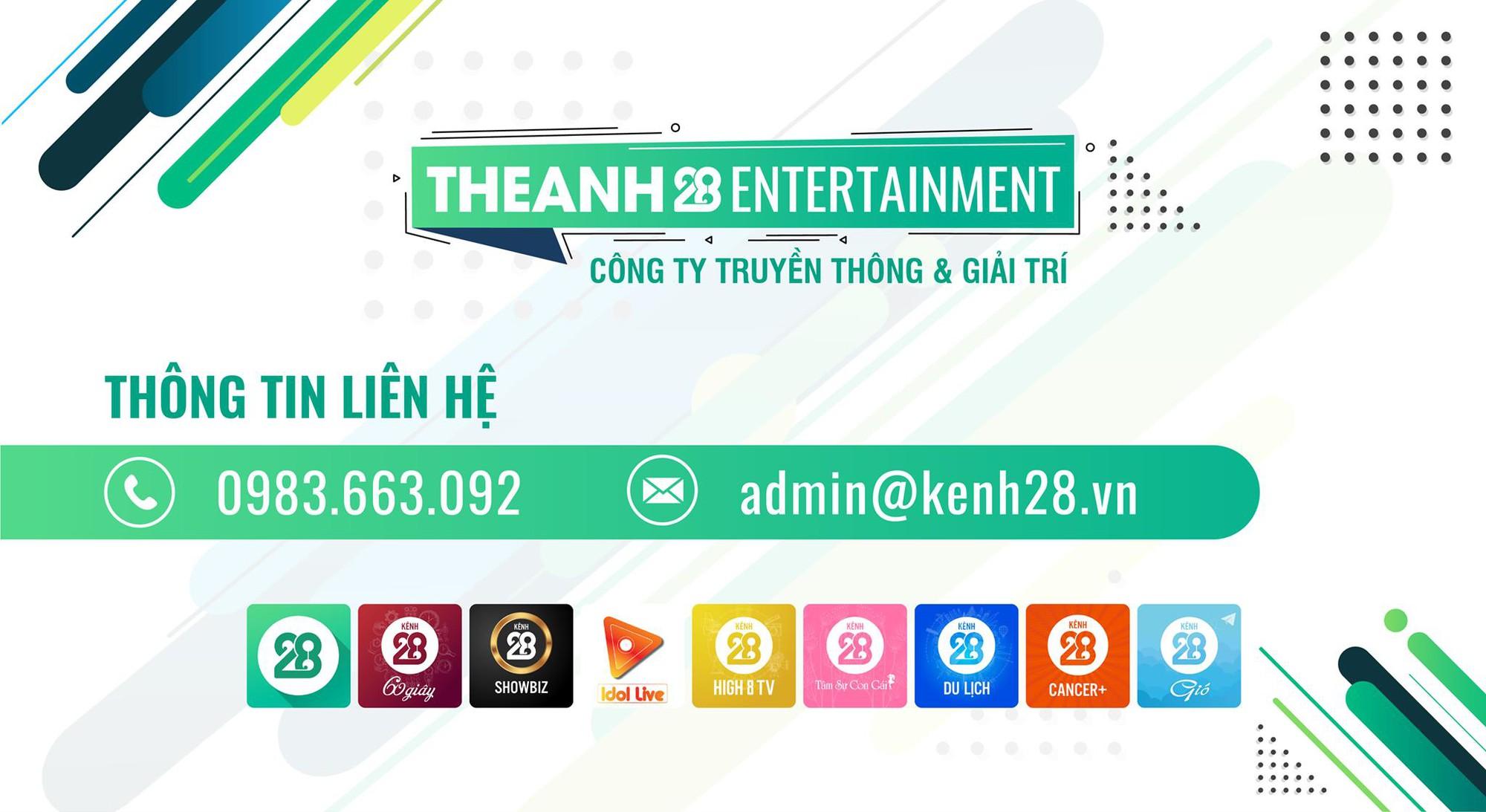 Theanh28 Entertainment - Công ty truyền thông và giải trí có bàn tay vàng trong làng Top Trending - Ảnh 1.