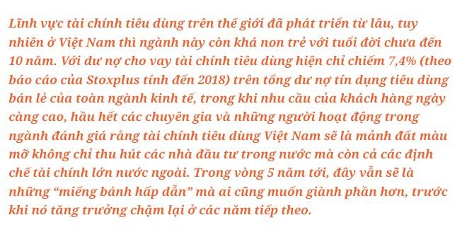 CEO Đinh Quang Huy- SHB Finance: Miếng bánh thuộc về ai biết cách chơi. - Ảnh 1.