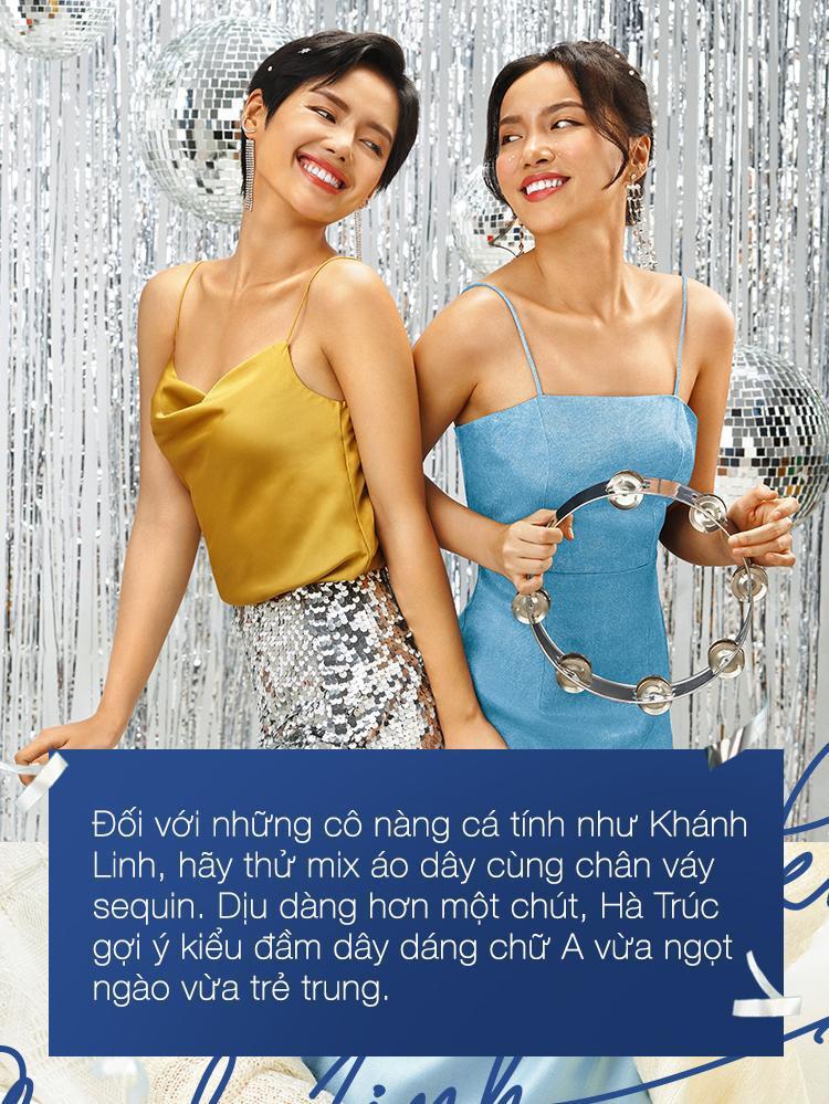 Bí quyết bắt sáng của cô em Trendy Khánh Linh và Hà Trúc trong mùa lễ hội năm nay - Ảnh 2.