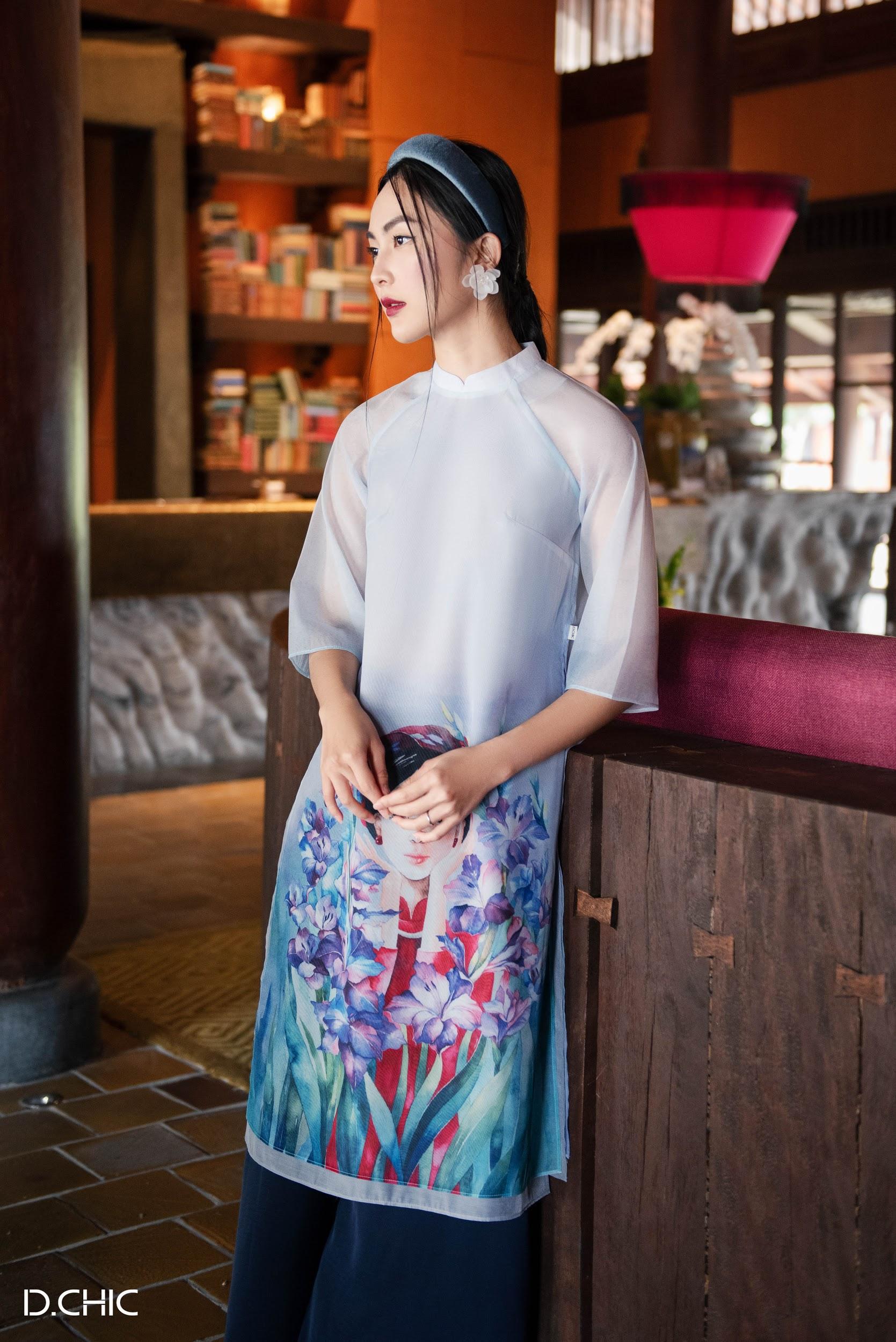 """Những mẫu áo dài làm hội bạn gái """"dậy sóng"""" mùa Tết 2020 - Ảnh 3."""
