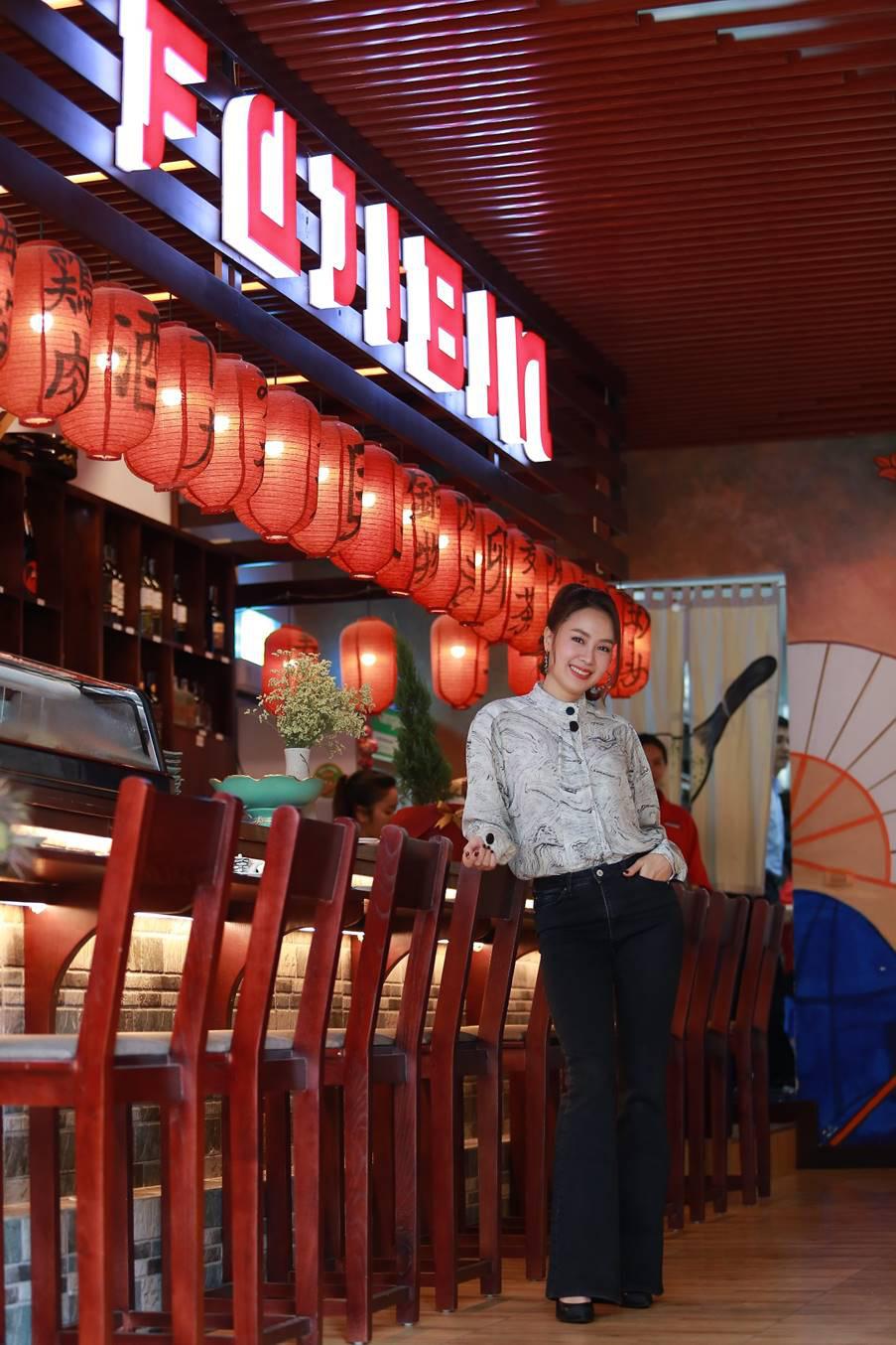 Thực hư chuyện Diễn viên Hồng Diễm - Bà chủ của nhà hàng Fujibin từ trong phim thành hiện thực - Ảnh 6.