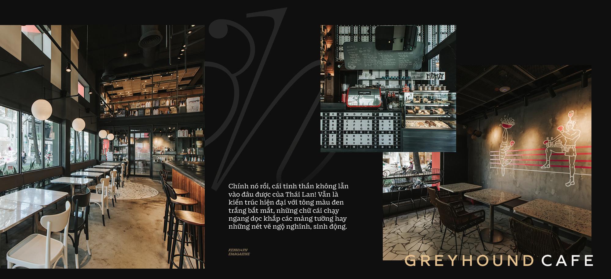 Dành cho hội Thai-aholic: Greyhound - Thương hiệu cafe kết hợp thời trang đình đám nhất xứ sở chùa vàng đã về đến Sài Gòn rồi đây! - Ảnh 6.