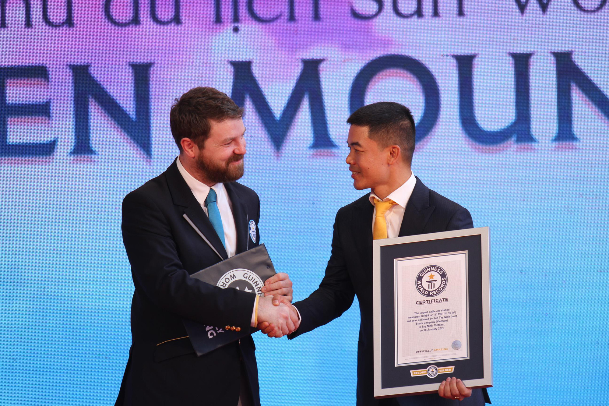 """Khai trương hệ thống cáp treo sở hữu kỷ lục """"Nhà ga cáp treo lớn nhất thế giới"""" tại Tây Ninh - Ảnh 2."""