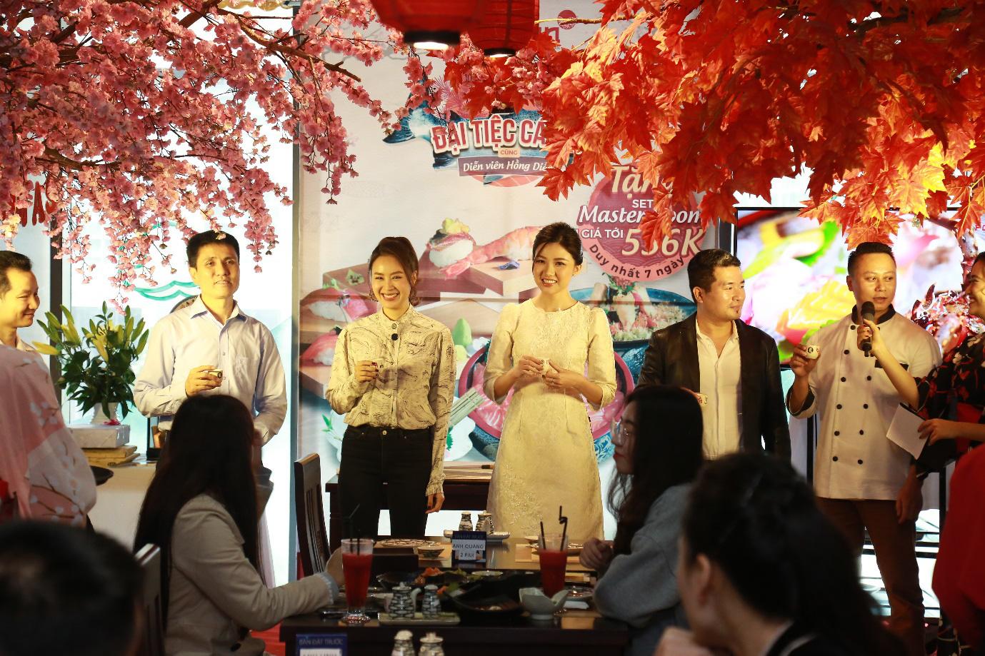Thực hư chuyện Diễn viên Hồng Diễm - Bà chủ của nhà hàng Fujibin từ trong phim thành hiện thực - Ảnh 5.