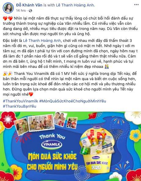 """MV Tết """"Thank you Vinamilk"""" - Thông điệp ý nghĩa về món quà sức khỏe - Ảnh 2."""