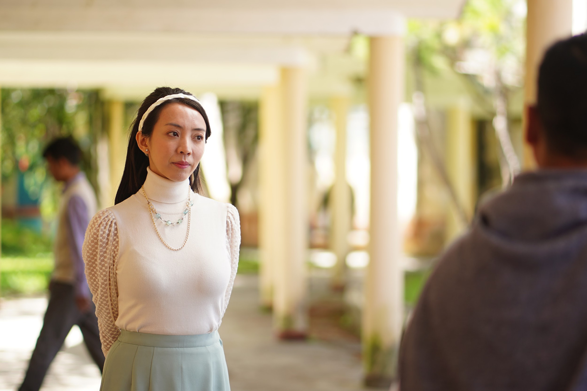 """Những câu thả thính """"hàng khủng của chị đại Thu Trang khiến Quốc Trường đổ gục trong Đôi Mắt Âm Dương - Ảnh 6."""