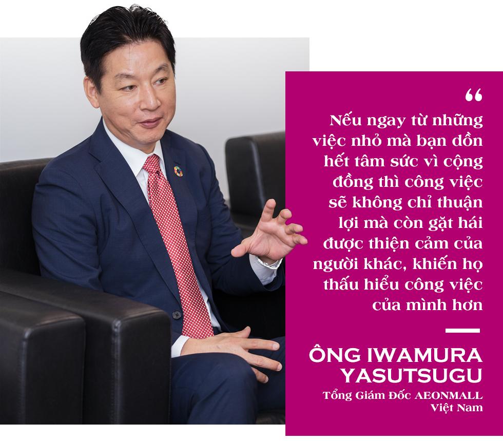 """Tổng Giám đốc AEONMALL Việt Nam: Thực hiện các dự án """"Happiness Mall"""" là mục tiêu phát triển bền vững - Ảnh 4."""