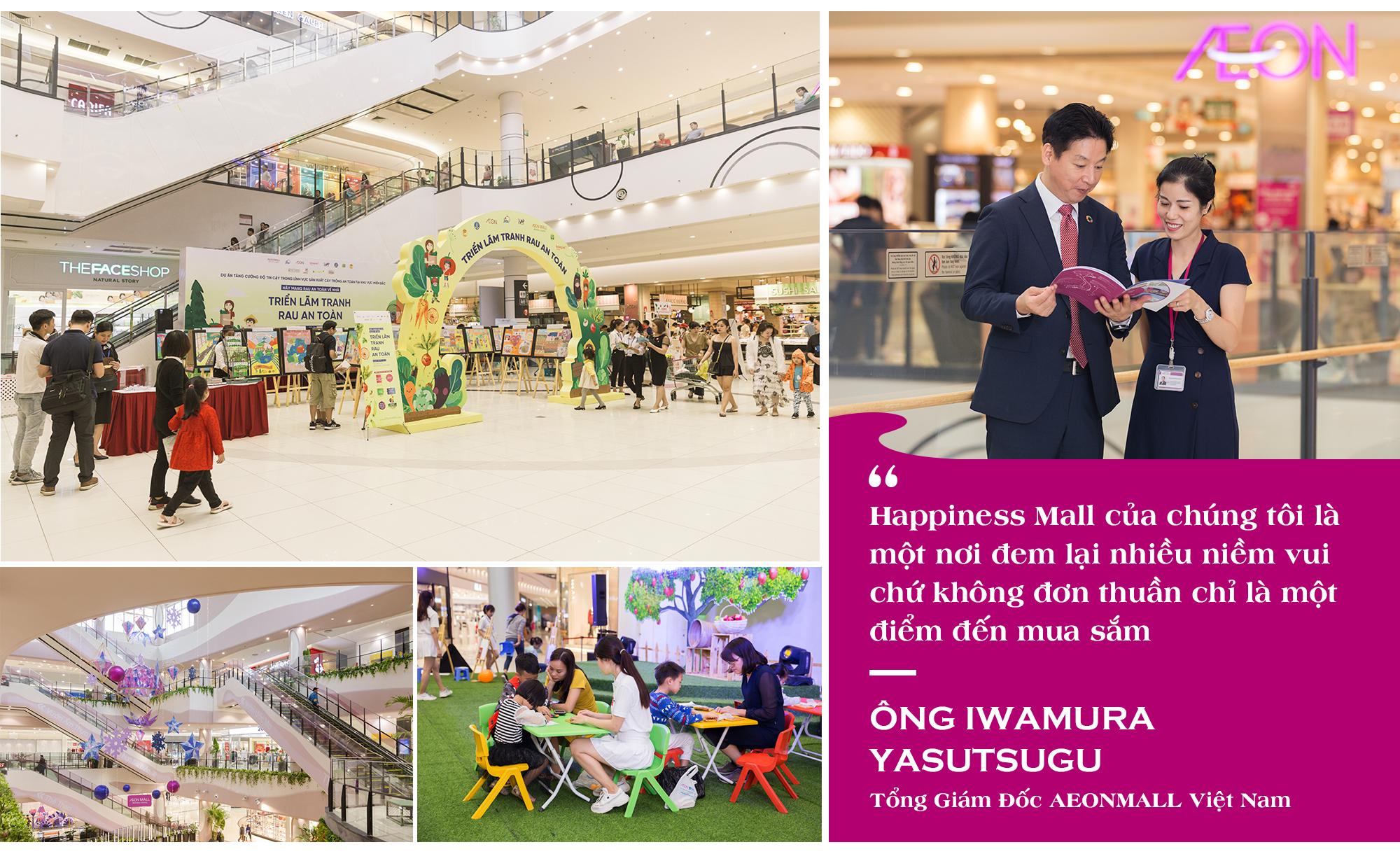 """Tổng Giám đốc AEONMALL Việt Nam: Thực hiện các dự án """"Happiness Mall"""" là mục tiêu phát triển bền vững - Ảnh 7."""