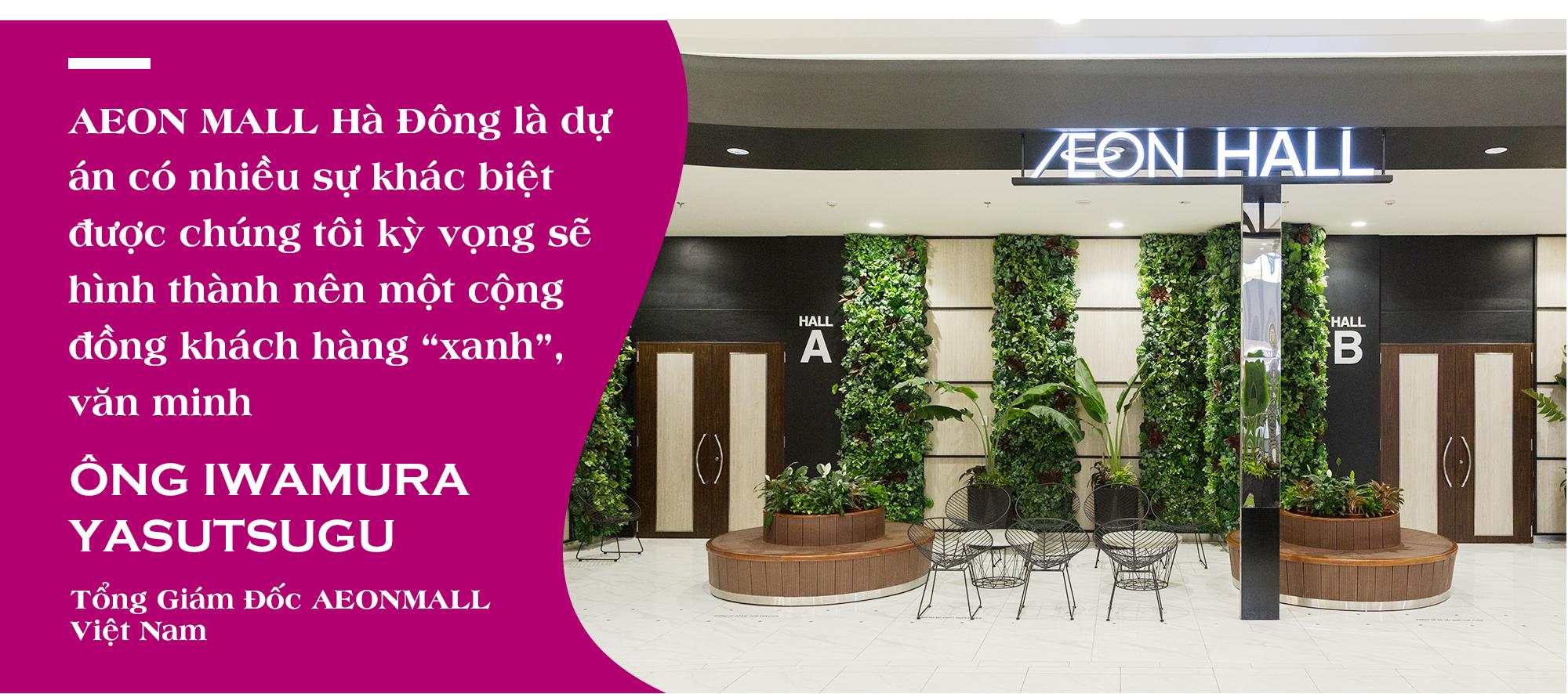 """Tổng Giám đốc AEONMALL Việt Nam: Thực hiện các dự án """"Happiness Mall"""" là mục tiêu phát triển bền vững - Ảnh 8."""
