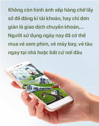 MOBILE BANKING - Hành trình từ trải nghiệm mới mẻ cách đây gần một thập kỉ cho đến sứ mệnh thay đổi thói quen tiêu tiền của người Việt - Ảnh 5.