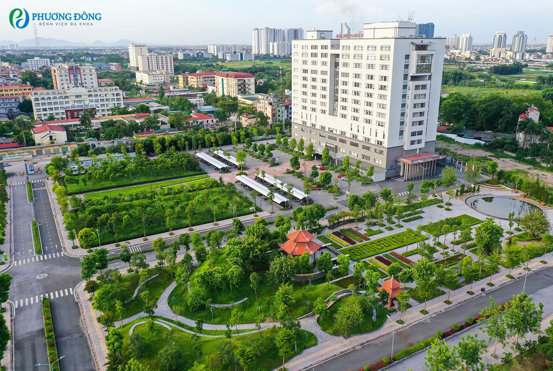 Hơn 2 năm nay, trên một khu đất rộng hơn chục ha ở số 9 Phố Viên, Cổ Nhuế, Hà Nội có một công trình xanh rất bề thế và sang trọng - Ảnh 10.